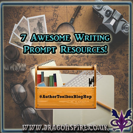7 awesome writing prompt resources: Author toolbox blog hop